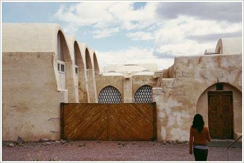 Hassan Fathy: Moschee in Abiquiu (New Mexico), Mai 2005, (c) Omar Omar