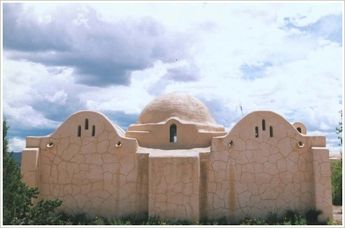 Hassan Fathy: Moschee in Abiquiu (New Mexico), (c) unbekannt