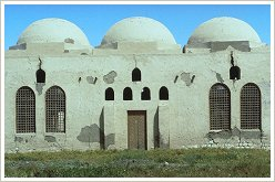 Hassan Fathy Village, Luxor Westbank: Frühere Jungenschule, (c) Chant Avedissian, Aga Khan Trust for Culture