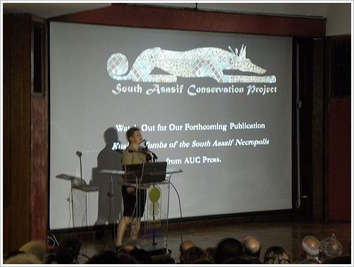 South Asasif Conservation Project Conference - Elena Pischikova