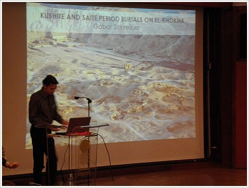 South Asasif Conservation Project Conference - Gabor Schreiber