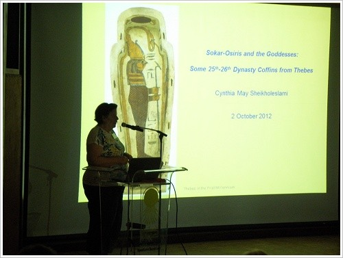South Asasif Conservation Project Conference - Cynthia May Sheikholeslami