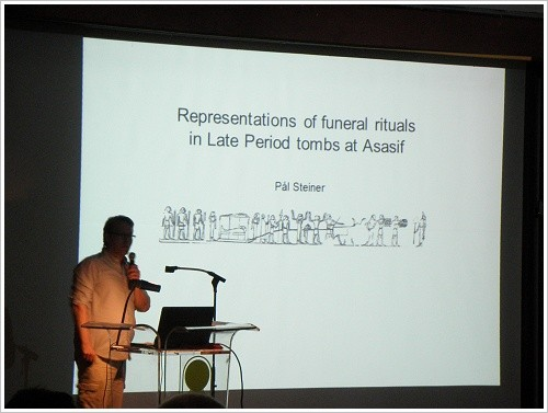 South Asasif Conservation Project Conference - Pål Steiner