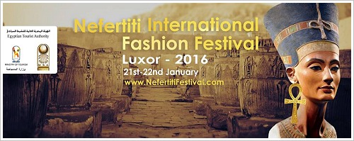 Nefertiti International Fashion Festival in Luxor