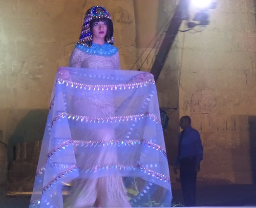 Nefertiti International Fashion Festival 2016 im Luxor-Tempel