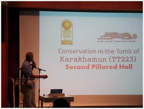 2. South Asasif Conservation Project Conference