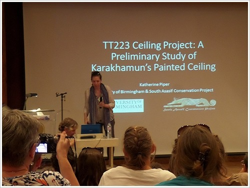 2. South Asasif Conservation Project Conference - Katherine Piper
